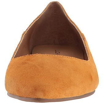 Lucky brändi naisten Bylando nahka huomautti toe Slide Flats