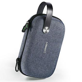 Ugreen bolsa de gadget de la caja de viaje pequeño, accesorios electrónicos portátiles organizador de viajes llevan duro ca