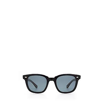 Garrett Leight CALABAR black laminate unisex sunglasses