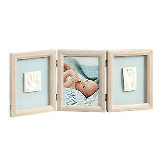 Baby art my baby touch double print frame stormy
