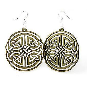 Boucles d'oreilles irish design