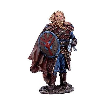 Viking Warrior Ornament Bjorn - 18.5cm - Boxed - Norse Nordic Statue Gift