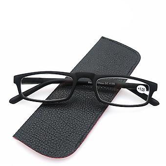 Lille firkant læsning Ultralight ubrydelige briller