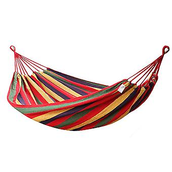 280100cm Outdoor 2 People Double Hammock Portable Camping Parachute Hanging Swing Bed Max Load 350kg