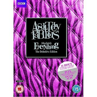 Ab Fab Absolutely Everything - Le DVD définitif Ed