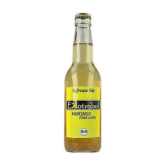 Soft drink of Moringa Pineapple and LIma Bio 330 ml