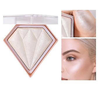 Diamant Highlighter Pulver Glitter Palette, Make-up Gesichts glühen Gesicht