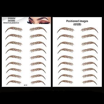 Magic 4d pelo-como ceja tatuaje pegatina cejas falsas cejas de larga duración