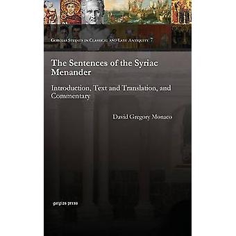 The Sentences of the Syriac Menander - Introduction - Text and Transla
