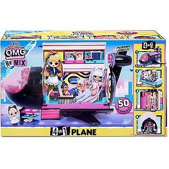 L.O.L Surprise! O.M.G. Remix 4-in-1 Plane Playset