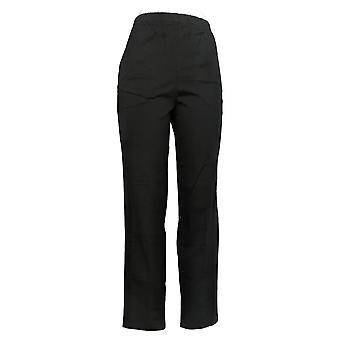 الدنيم وشركاه المرأة & apos السراويل الأصلي الخصر الجانب جيب أسود A388632