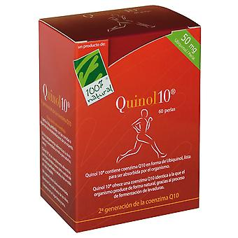 100% Natural Quinol 10 Ubiquinol 60 Caps