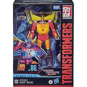 Transformers Hot Rod Deluxe Studio Series 86 Voyager Class Figure