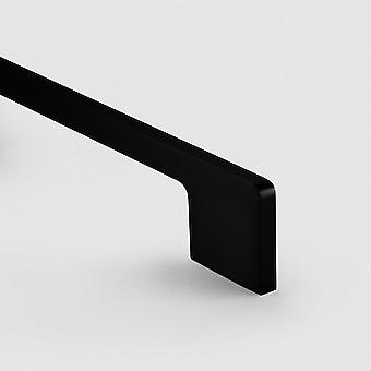 Brass Bar Handle - Black - Hole Centre 325mm