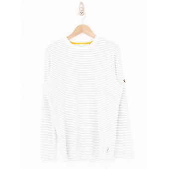 Ted Baker Melted Striped T.Shirt - White