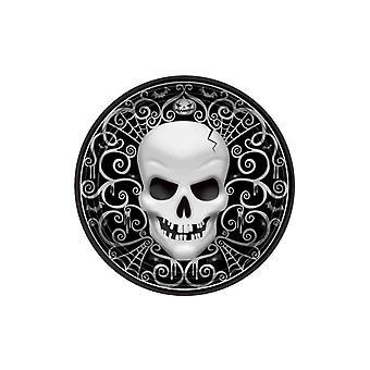 8 Halloween Death Head Dessertcarton Borden
