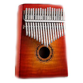 Kalimba Thumb Piano 17 Keys Portable Musical Instrument For Performance