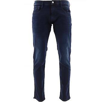 Replay Navy Anbass Slim Fit Jean