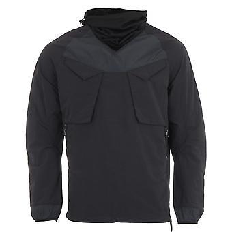 Maharishi Riverine Tech Recycled Nylon Ghostface Jacket - Black