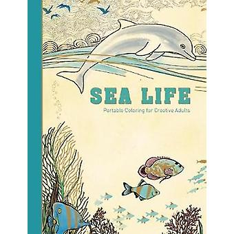 Sea Life by Adult Coloring Books