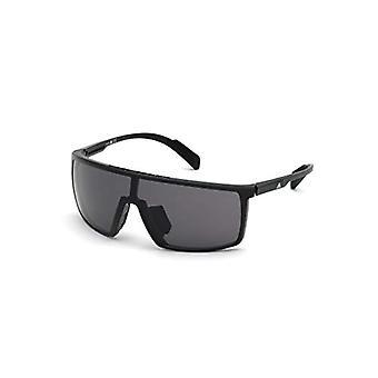 adidas SP0004 Occhiali, Shiny Black/Smoke, 00 Unisex-Adulto