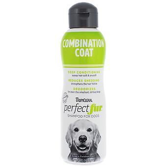 Tropiclean Pefect Pelliccia Combinazione Cappotto Shampoo per Cani 473ml