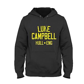 Luke campbell leggenda della boxe bambini felpa con cappuccio