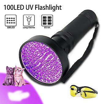 Черный свет УФ-фонарик? C HIGH Power 100 LED с 30-футовый эффект наводнения? C Профессиональный класс Лучший коммерческий / внутренний использования работ даже в окружающем свете