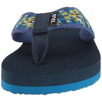 Kids Teva Girls Mush II Slip On T-Strap Flip Flops