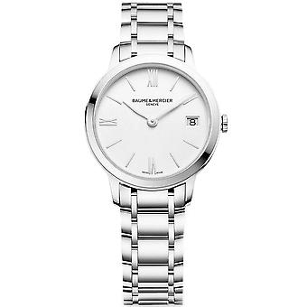 Baume & Mercier M0a10335 Classima Silver Stainless Steel Ladies Watch