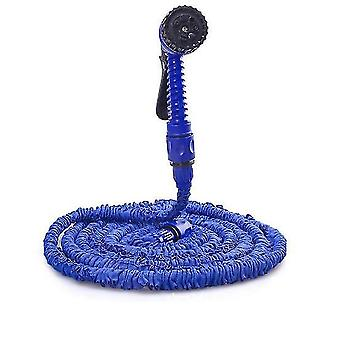 150Ft blue 3 times retractable garden high pressure water pipe for watering cleaning az8097