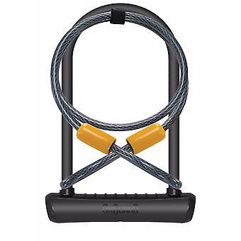 OnGuard Neon U-Lock   Extender Cable Black 115 x 230 x 11mm