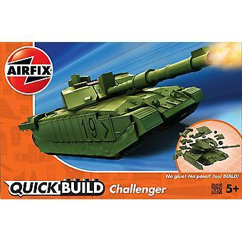 Airfix Quickbuild Challenger Tank Desert -mallisarja