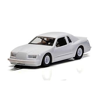 Scalextric C4077 فورد ثندربيرد 1986 الأسهم سيارة بيضاء 1:32 مقياس