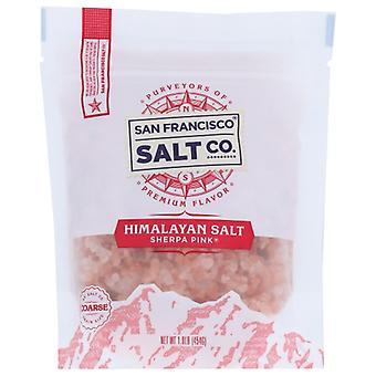 San Francisco Salt Co Salt Himalayan Coarse Grn, Case of 6 X 1 lb