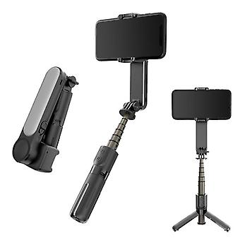 Cellphone handheld  gimbal stabilizer selfie stick tripod wireless remote control single axis for video shooting
