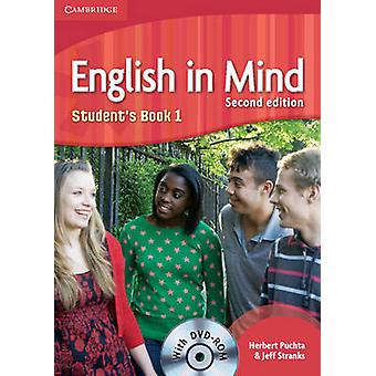 English in Mind Level 1 Students Reserve con DVDROM de Puchta & HerbertStranks & Jeff