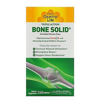 Vita di campagna, triple azione osso solido, 240 capsule