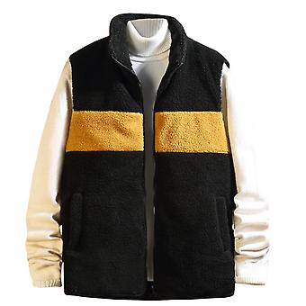 Homme & s Thick Stitching Zipper Pocket Casual Vest