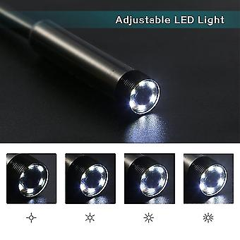 6 Led 5.5mm Lens 720p Endoscope Waterproof Inspection Borescope For Android