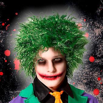 Halloween Wig Green