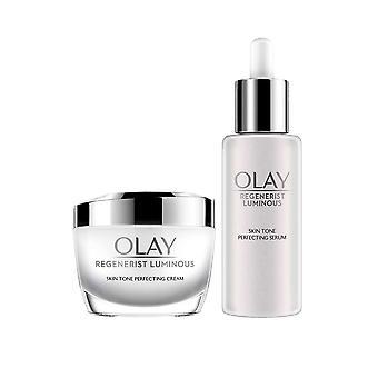 Olay Regenerist Luminous Skin Tone Perfectioning Serum 40ml Perfectioneer crème 50ml