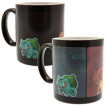Pokemon évoluent chaleur changeant Mug