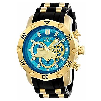 Invicta  Pro Diver 23426  Silicone, Stainless Steel Chronograph  Watch