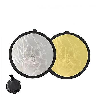 Mini 11.8in Centimeter Light Reflector 2-in-1, Portable And Foldable