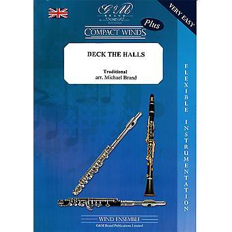 Marca: DECK THE HALLS Woodwind Ensemble Music com instrumentação flexível