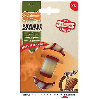 Nylabone Rawhide Dog Bone Knot (Hundar , Leksaker & Sport , Chew Toys)