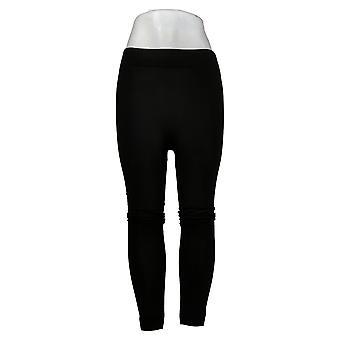 Rhonda Shear Leggings M/L Legging doublé de polaire Noir 679977