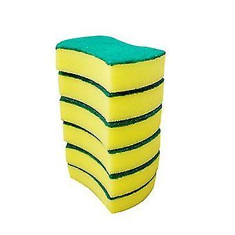 6pcs Heavy Duty Scrub Sponge Scouring Pad
