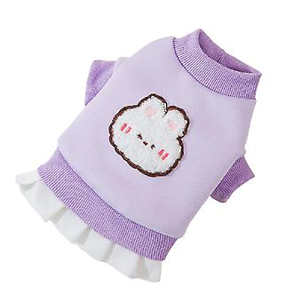 Dog Hoodie Sweaters With Hat, Pet Puppy Cat Winter Clothes With Pocket